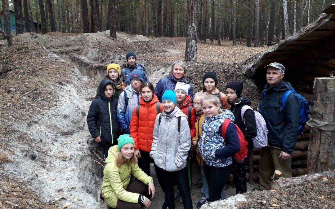 Кетовские школьники прошли по туристическому маршруту