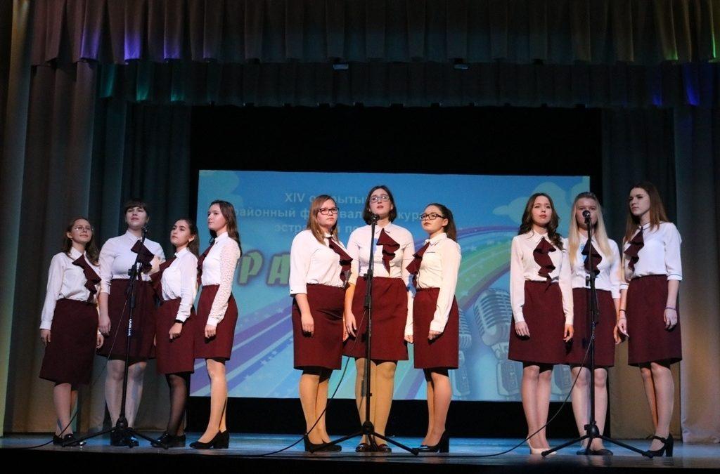 Фестиваль эстрадной песни прошел в Далматово