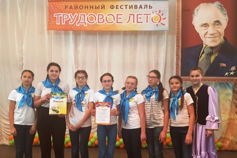 В Шадринском районе подвели итоги «Трудового лета»