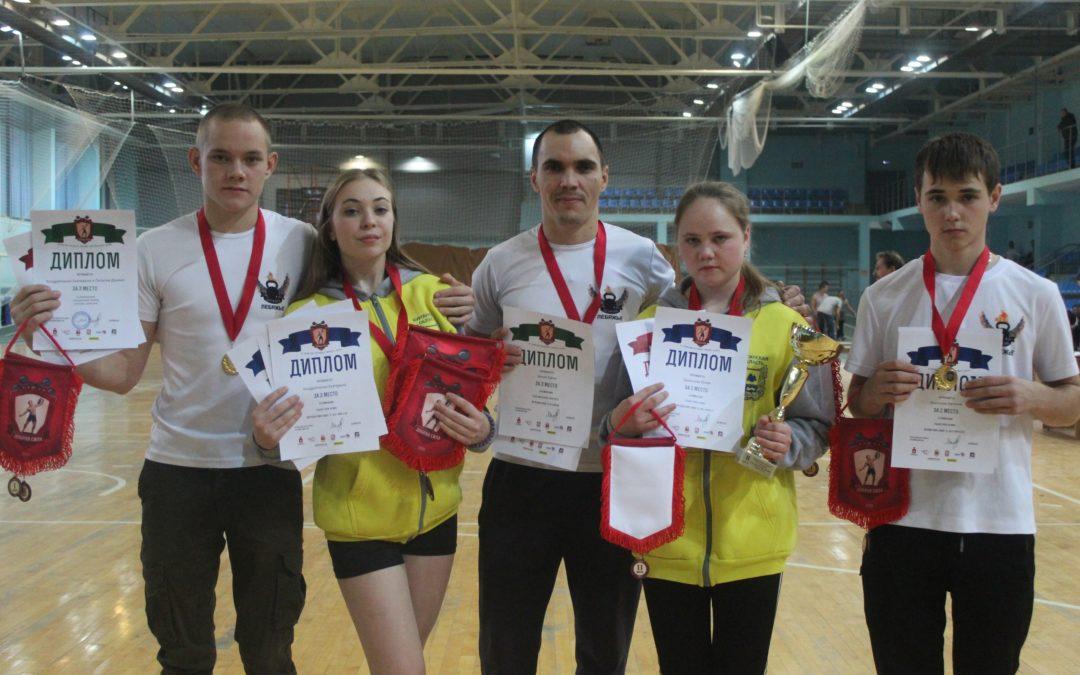 Лебяжьевские гиревики успешно выступили на чемпионате России