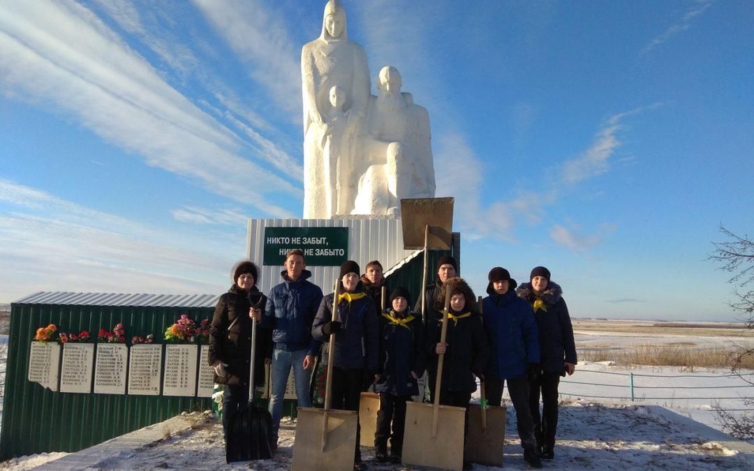 Студотрядовцы провели «снежный десант»