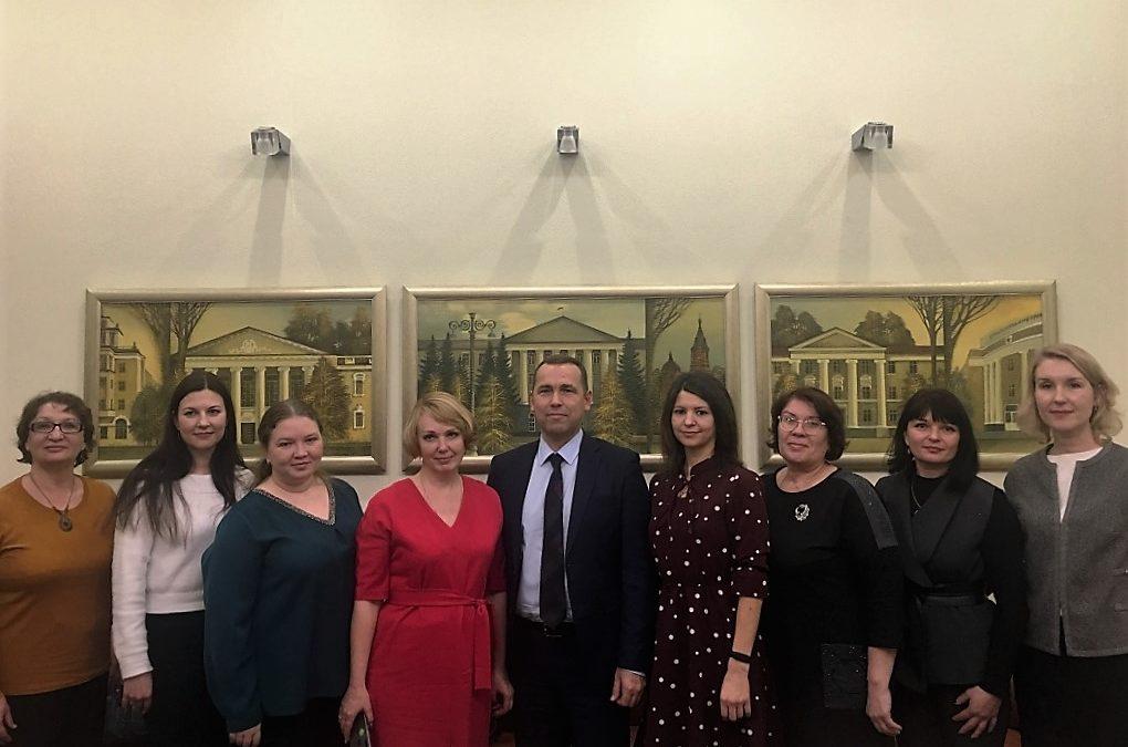 Глава региона встретился с полуфиналистами конкурса «Доброволец России 2019»