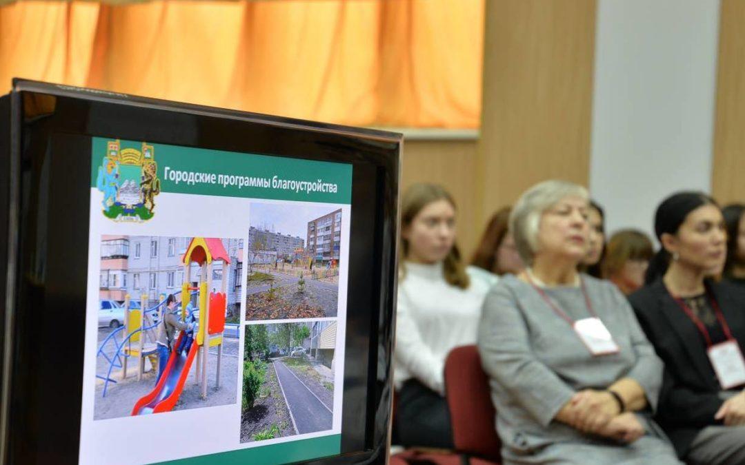 Студенты-архитекторы обсудили облик Кургана