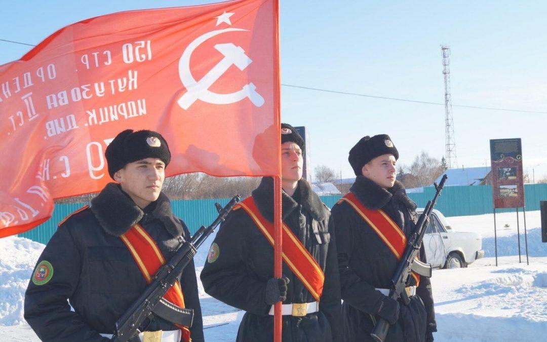 В Курганской области проходит патриотический месячник