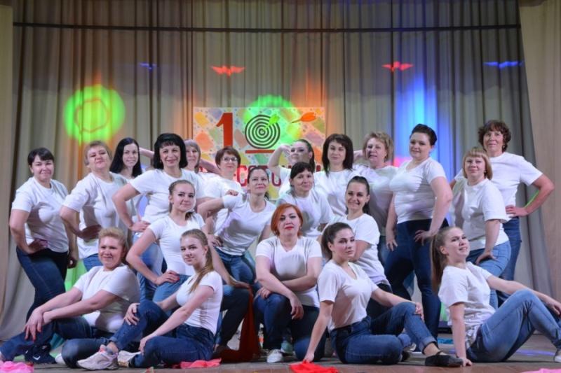 Шатровские танцоры отметили юбилей