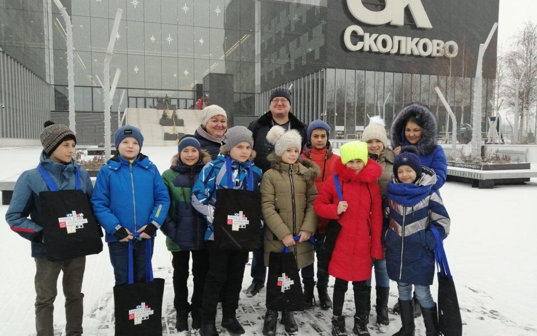 Зауральские ребята приехали из Москвы