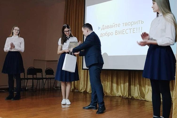 Курганскую активистку наградили за участие во всероссийской акции