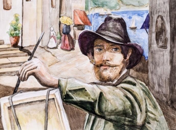 Работу шадринской художницы отметил Союз художников России