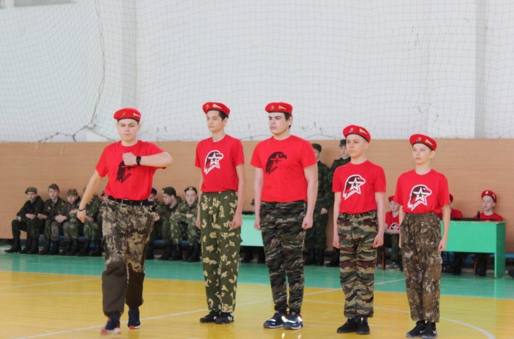 Конкурс молодого бойца прошел в Шатрово