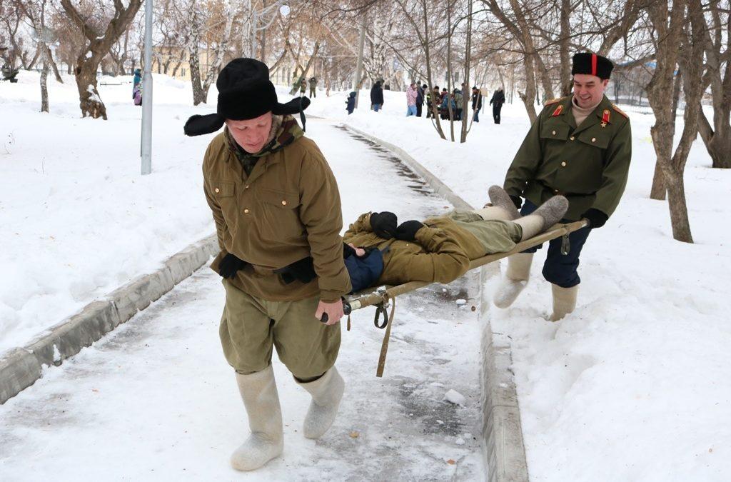 Патриотическая квест-игра прошла в Далматово