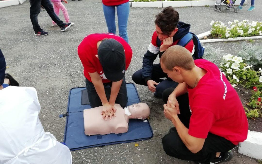 Волонтеры-медики проведут уроки первой помощи