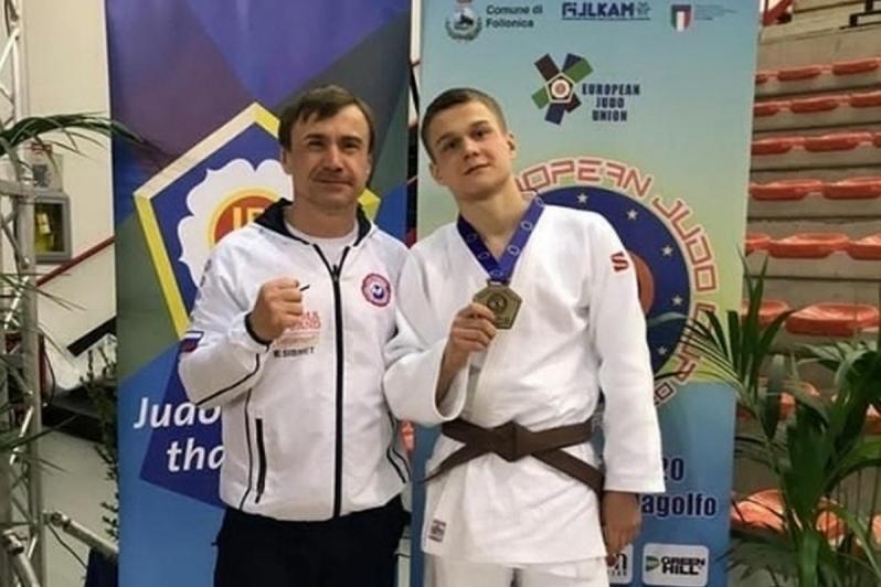 Курганский дзюдоист завоевал бронзу на Кубке Европы