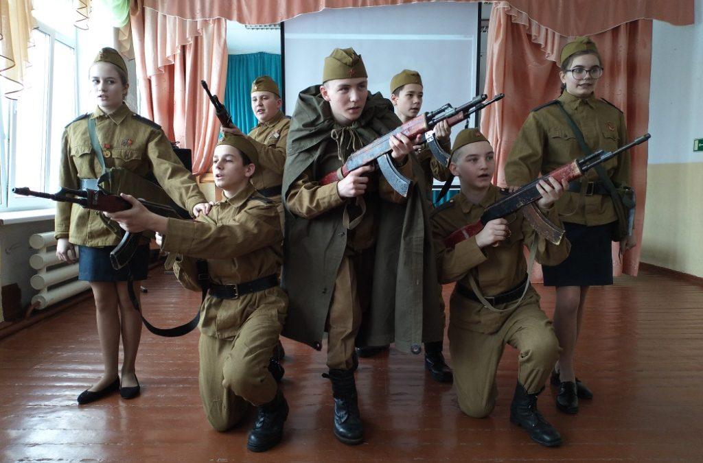 Кетовские кадеты стали участниками военно-спортивной игры