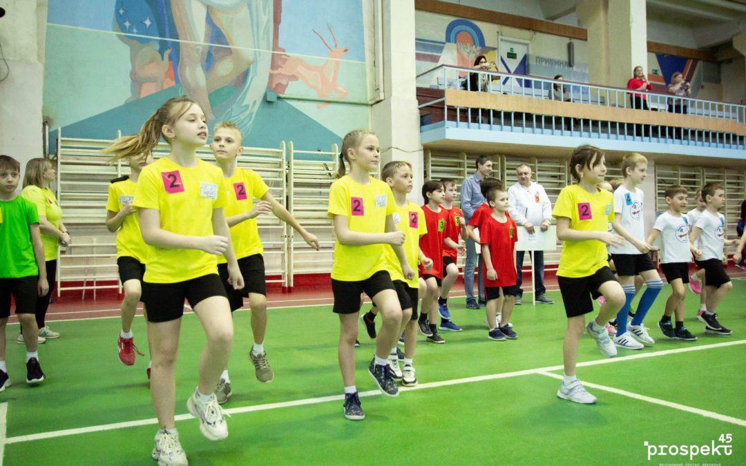 Курганские гимназисты стали лучшими в «Веселых стартах»