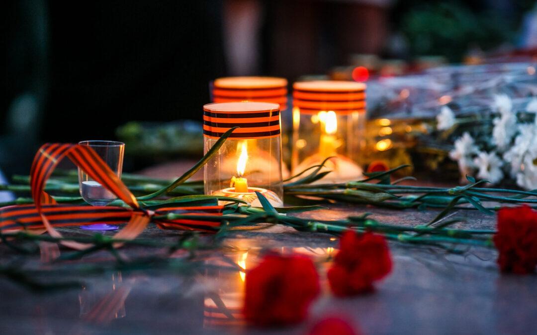 В Зауралье прошла акция «Свеча памяти»