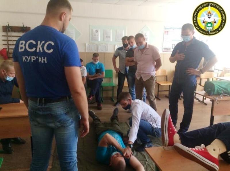 Студенты-спасатели обучают зауральцев