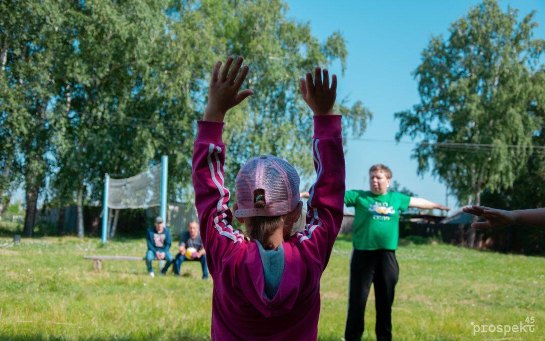 В Зауралье продолжает работу социальный проект «Тренер-общественник»